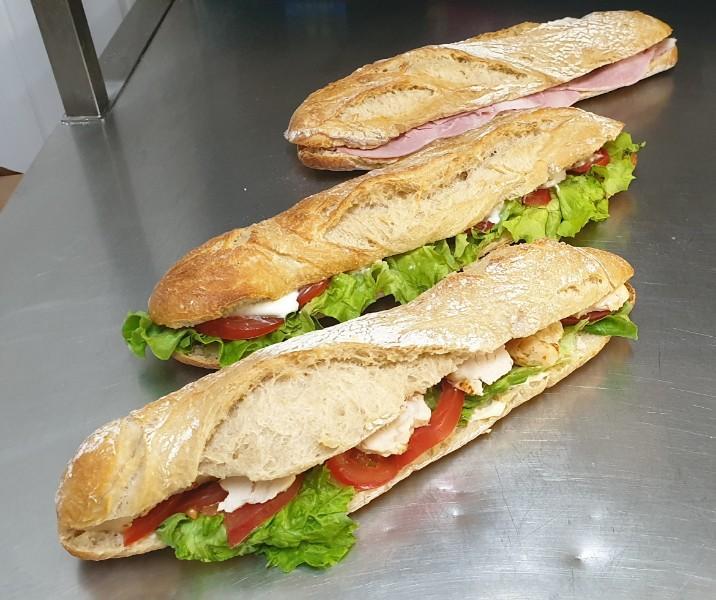 Sandwichs boulanger Muret